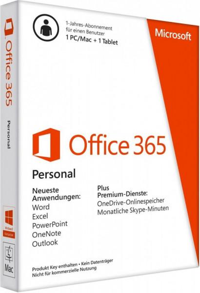 Microsoft Office 365 Personal 1 User (DE) (ESD)