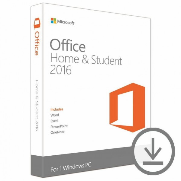 Microsoft Office Home & Student 2016 ESD DE Win
