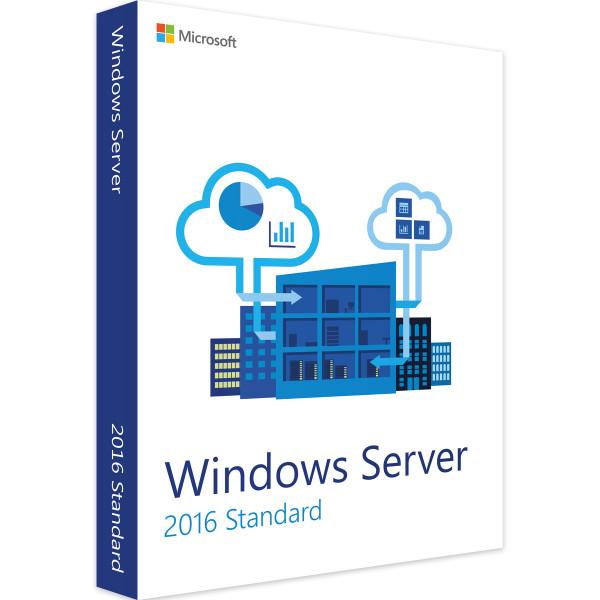 Microsoft Windows Server 2016 Standard 16 Kerne (DE), ESD