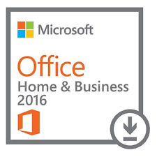 Microsoft Office 2016 Home and Business DE (Win) (ESD