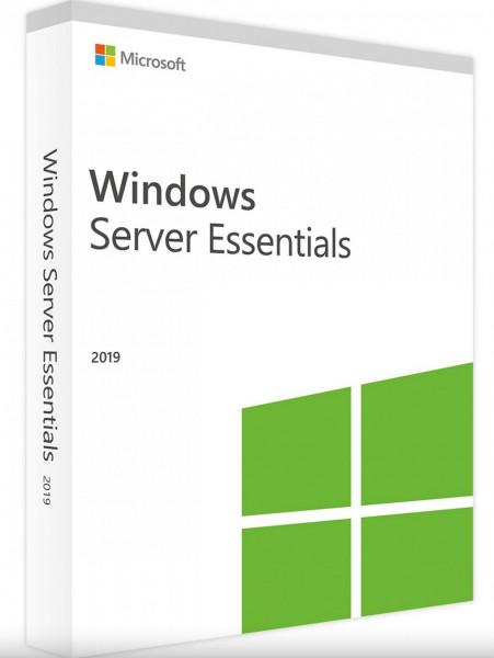 Microsoft Windows Server 2019 Essentials 1-2 CPU 64Bit DVD SB/OEM, Deutsch (G3S-01301)